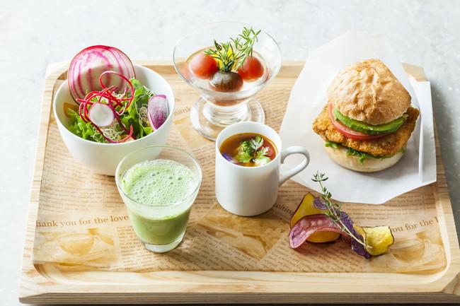 小田急ホテルセンチュリーサザンタワー 東京産の野菜にこだわった地産地消ランチをワンプレートで!