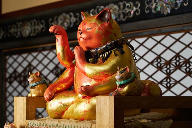 【ホテル雅叙園東京】千の福ねこアート展at百段階段 猫の一生 ~誕生から天上界まで~開催!